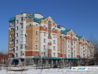 Нижние дома микрорайона Волжский-1