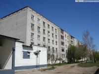 Двор 34 дома по улице Ашмарина