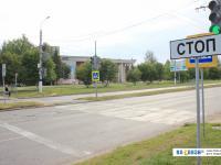 Пешеходный переход возле Дворца пионеров
