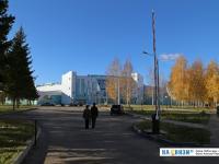 Въезд в центр маунтинбайка
