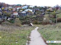 Пешеходная тропинка между Новоюжным районом и Южным поселком
