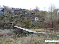 Пешеходный мостик через речку Кукшум