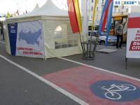 Единая Россия на велодорожке