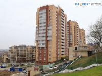 Вид на дома по улице Маркова