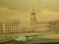 Проект здания сельхозакадемии