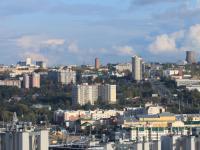 Вид на город Чебоксары