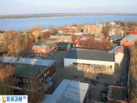 Вид на территорию ликеро-водочного завода