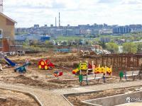 Строительство детского сада в микрорайоне Радужный
