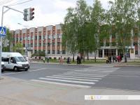 """Регулируемый пешеходный переход между остановками """"Республиканская больница"""""""