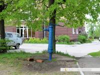 Старая водопроводная колонка в Чебоксарах