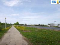 Пешеходная дорожка вдоль аэропорта