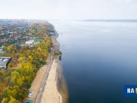 Вид на Московскую набережную и пляж