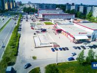 Вид с высоты на торговый комплекс Шупашкар