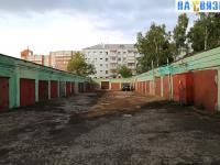 Гаражи - пр. Ленина 21Б