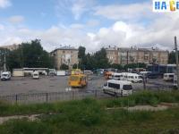 Площадка для автобусов и маршруток
