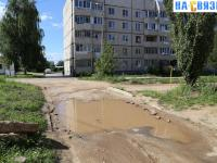 Ужасные дороги на проезде Соляное