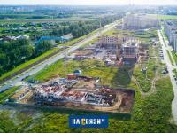 Вид на новые позиции Нового города