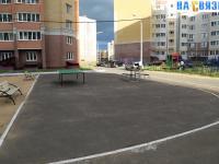 Площадка во дворе дома