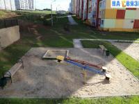 Песочница, детская площадка