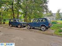 Парковочные места для внедорожников