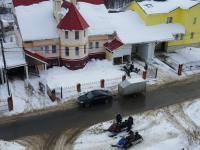 Клуб любителей снегоходов
