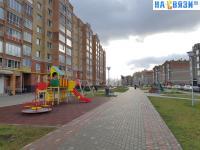 Бульвар на улице Галкина