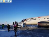Посадка в самолет NordWind Airlines