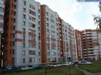 Двор 1 дома по улице Пролетарская
