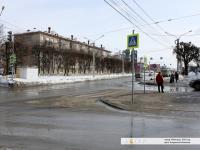 Светофор на выезде с улицы Гладкова на Пристанционную