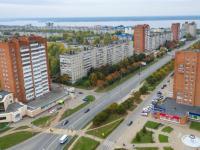 Вид с высоты на улицу Гузовского