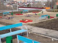Благоустройство детская площадка