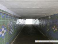 Внутри подземного перехода