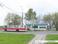 Конечная остановка троллейбуса №3