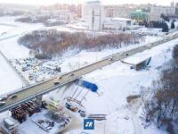 Вид на тоннель под Московским проспектом