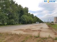 Парковка у Чебоксарского проспекта
