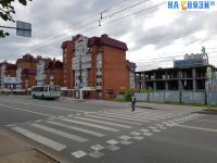 Приподнятый пешеходный переход