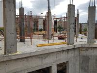 Строительство средних подъездов Ярмарочная 17