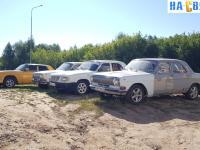 Выставка старых автомобилей Волга