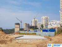 Строительство микрорайона Радужный, 2018 год