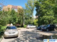Парковка во дворе Афанасьева 7