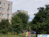 Район улицы Ахазова