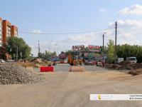 Ремонтные работы на улице Цивильской