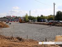 Строительство выезда с улицы Цивильской на Николаева