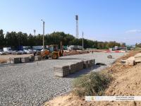 Строительство перекрестка улиц Николаева и Цивильской