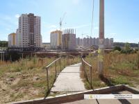 Пешеходная дорожка в микрорайон Солнечный