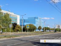 Пешеходный переход возле заводоуправления