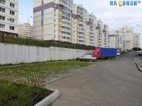 Парковка у дома ул. Радужная 8