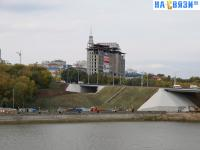 Строительство Московского моста
