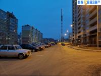 Парковка у дома ул. Токарева 4
