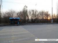 Старый пешеходный переход и остановочный павильон в Иваново